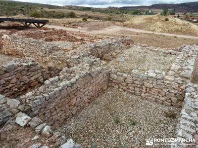 Yacimiento celtíbero de Tiermes y Hoz de Ligos;rutas x madrid romanico segoviano
